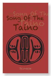 front cover image for song of the taino showing taino petroglyph